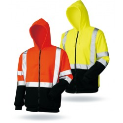 100% polyester 300D oxford fabric and man hi vis waterproofsafety silver reflective best winter jackets with hood